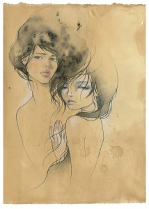 http://thinkspacegallery.com/2008/drawingroom/show/Audrey-collab-with-Stella.jpg