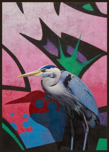http://thinkspacegallery.com/2012/11/show/Blue-Heron-Pink-wall.jpg