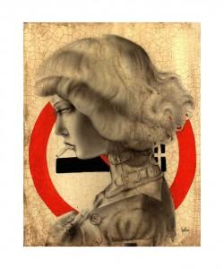 http://thinkspacegallery.com/2008/drawingroom/show/Brian-Viveros-NO-SMOKING_8x10_in-ANTIQUE-FRAME.jpg
