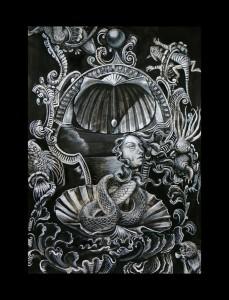 http://thinkspacegallery.com/2010/04/project/show/Carrie-Ann-Badde---devil-details-snake-headed-girl.jpg