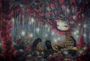 http://thinkspacegallery.com/2012/03b/show/I-become-Forest-45.5x67cm.jpg