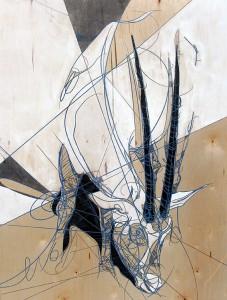 http://thinkspacegallery.com/2010/01/show/Jason-Thielke---Arabian-Oryx.jpg