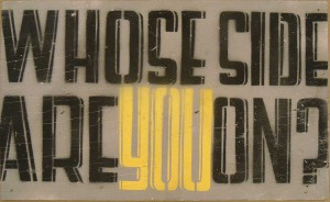 http://thinkspacegallery.com/2009/01/show/Josh-MacPhee-Whose-Side-Are-You-On.jpg