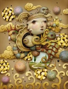 http://thinkspacegallery.com/2010/08/show/Naoto-Hattori-Oriental-Wind---6.2x8---Acrylic-on-panel---$2000.jpg
