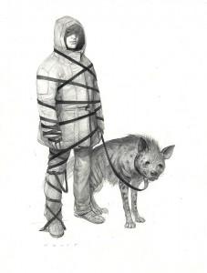 http://thinkspacegallery.com/2010/01/show/Wesley-Burt---striped-hyena.jpg