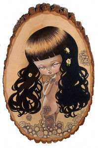 http://thinkspacegallery.com/2008/dreamcatcher/show/Wrapped-in-Lace-(10-x-15-in.jpg