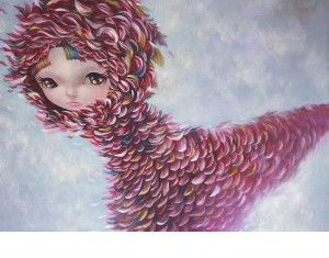 http://thinkspacegallery.com/2013/05/show/Yosuke_Pink-Bagworm-18x24inch-46x61cm.jpg