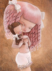 http://thinkspacegallery.com/2008/dreamcatcher/show/pinkylocks-(5X7-in).jpg