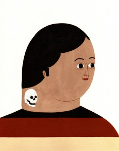 http://thinkspacegallery.com/2007/11/show//untitled-(skull-neck-tattoo.jpg