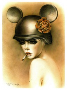 http://thinkspacegallery.com/2008/drawingroom/show/Brian-Viveros-EVOLUTION-The-DirtyLand-II.jpg