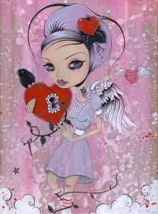 http://thinkspacegallery.com/2010/08/show/Caia-Koopman---Blue-Angel---Acrylic-on-wood.jpg