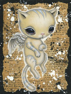 http://thinkspacegallery.com/2009/09/show/Celestial_Kitty.jpg