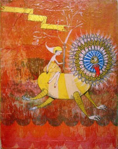 http://thinkspacegallery.com/2010/08/show/Ferris-Plock-and-Kelly-Tunstall---Riding---11x14---Acrylic-and-mixed-media-on-paper-on-canvas---450.jpg