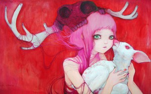 http://thinkspacegallery.com/2009/09/show/GentleFawns.jpg