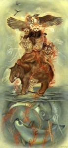 http://thinkspacegallery.com/2010/01/show/Jen-Lobo---Totem.jpg