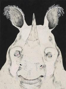 http://thinkspacegallery.com/2012/05/show/Jennifer-Davis_Rhinoceros.jpg