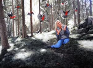 http://thinkspacegallery.com/2010/08/show/Linnea-Strid---Time-To-Let-My-Lovebird-Go---Oil-on-wood-panel.jpg