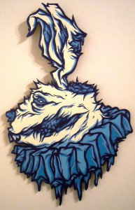 http://thinkspacegallery.com/2010/04/project/show/Mr.-Gauky---Skombie-Rabbit---9x15---Acrylic-on-die-cut-wood.jpg