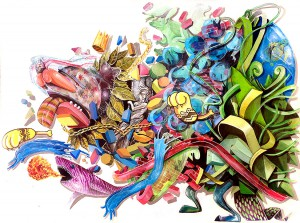 http://thinkspacegallery.com/2013/12/show/NoseGo_Collective-The-Wild_18x24.jpg