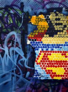 http://thinkspacegallery.com/2010/08/show/Rene-Gagnon---Superman---Mixed-media-on-canvas---$500.jpg