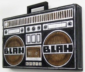http://thinkspacegallery.com/2009/01/show/Skewville-blah-blah-radio-(side-view).jpg