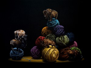 http://thinkspacegallery.com/2011/04a/show/Woolly-Mammoths.jpg