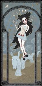 http://thinkspacegallery.com/2007/10/show/arrow_girl.jpg