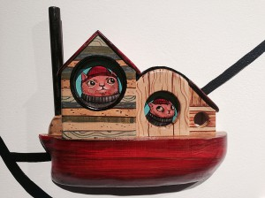 http://thinkspacegallery.com/2014/10/show/kellyvivanco_Red-Cats-Hauling.jpg