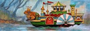 http://thinkspacegallery.com/2014/10/show/kellyvivanco_king_toads_riverboat_castle-1000.jpg