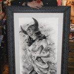 Viveros with 'Battlefield' in custom frame